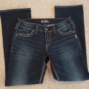 Silver jeans Suki slim boot size 29/31